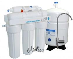 Системы обратного осмоса atoll — современное оборудование для качественной очистки воды